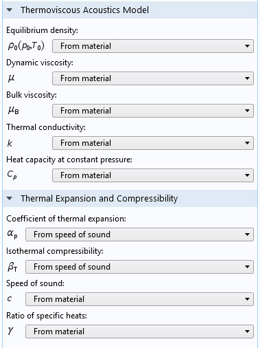 Acoustics Module Updates Comsol 53a Release Highlights