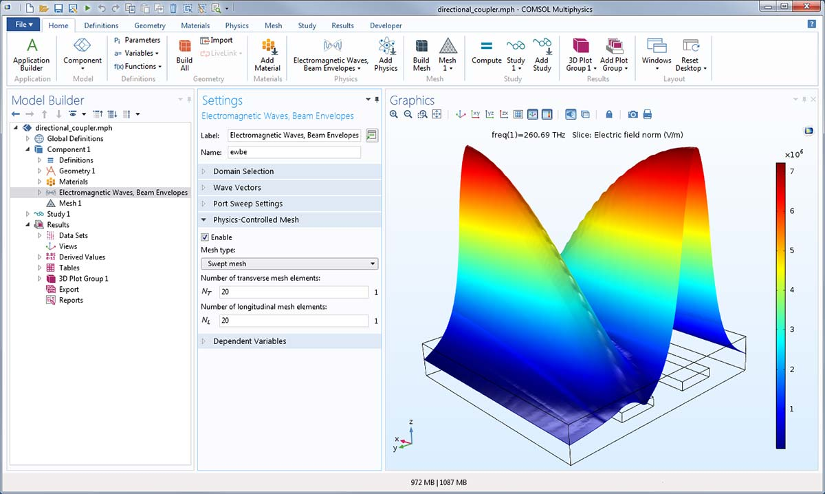 Wave Optics Module Updates - COMSOL® 5 3a Release Highlights