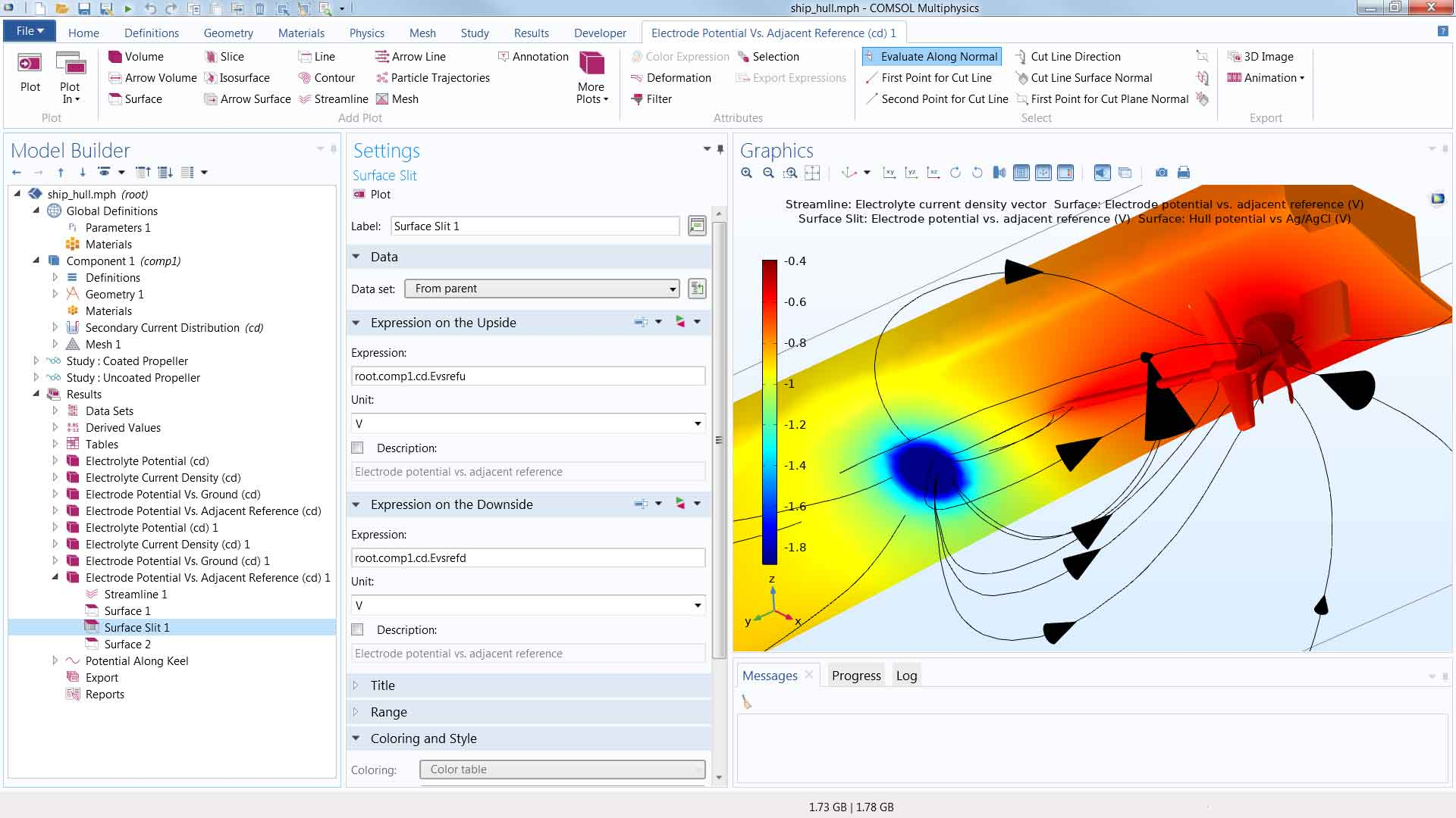 Postprocessing and Visualization Updates- COMSOL® 5 4