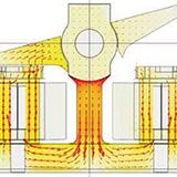Model of the shutter mechanism.