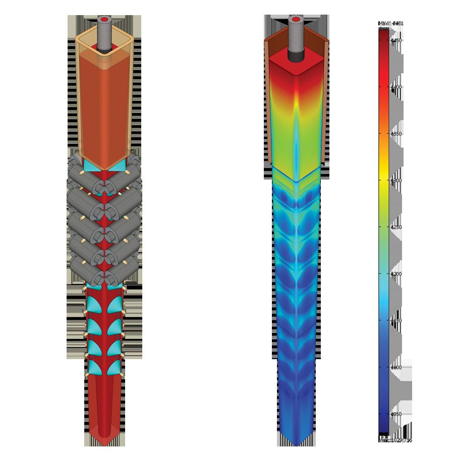 Ugitech Optimizes Steel Casting Process Using COMSOL Multiphysics