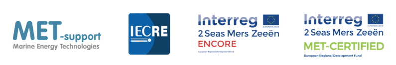 Four logos of members of the ENCORE project.