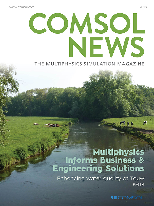 COMSOL News Magazine 2018
