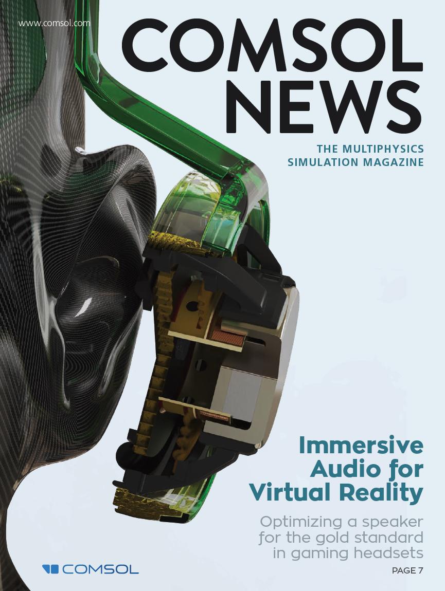 COMSOL News Magazine 2020