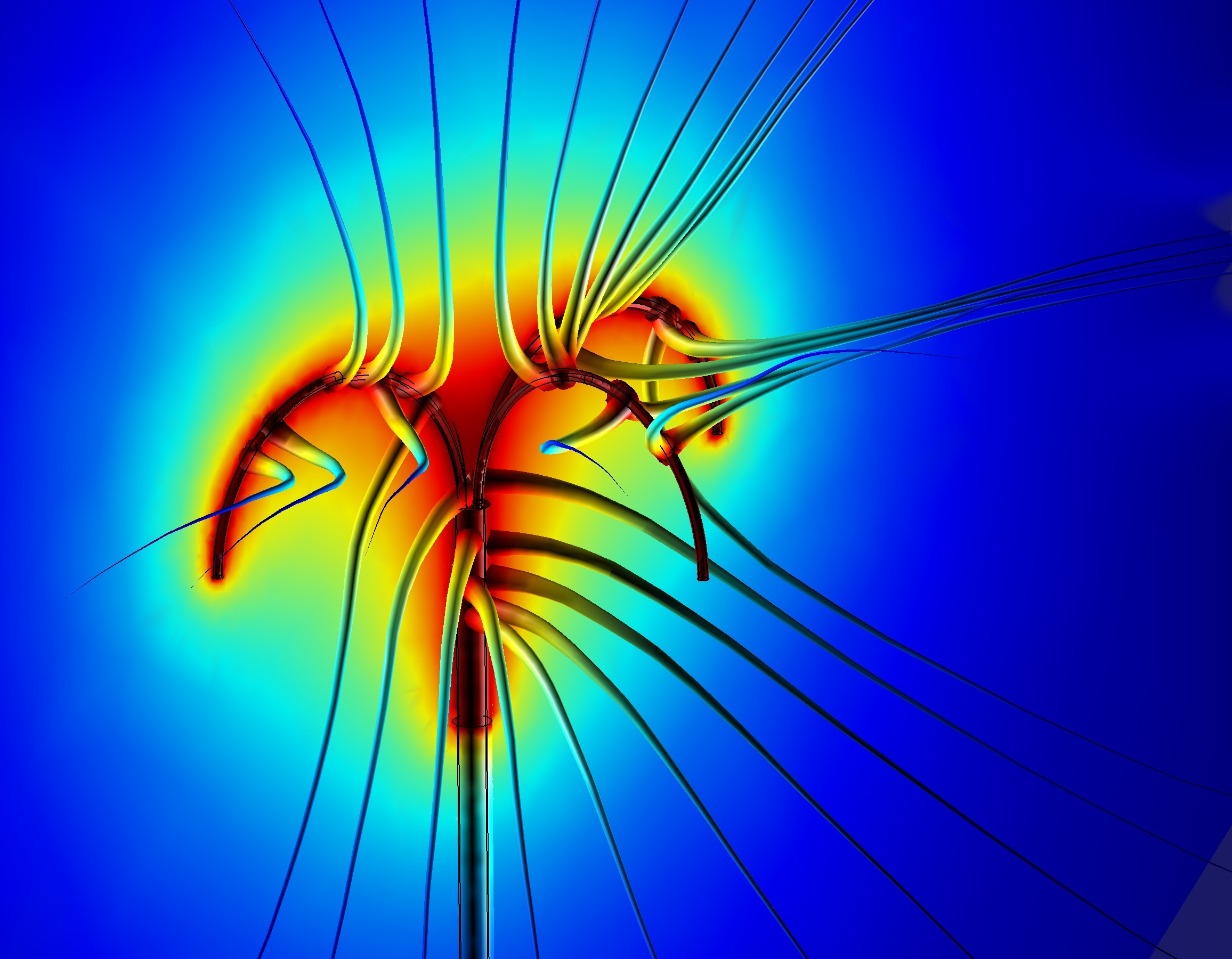 Tumor Ablation, modeled in COMSOL Multiphysics