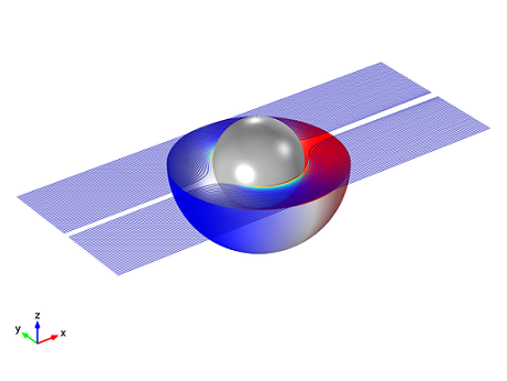 Ideal Cloak, COMSOL Multiphysics
