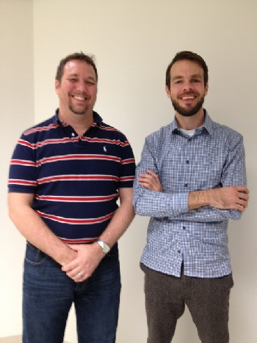 Jason Lee from Naval Research Laboratory (left) and COMSOL Instructor, Corrosion Course in Burlington, MA