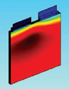 Surface heat of li-ion battery pack