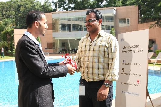 COMSOL Conference Bangalore Facebook contest winner