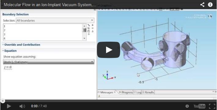 Vacuum system simulations