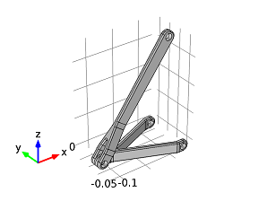 Geometry of a barrel hinge