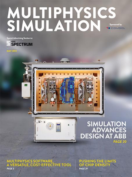 IEEE Spectrum Multiphysics Simulation insert 2013