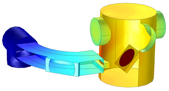 Simulation of a semiconductor ion implanter