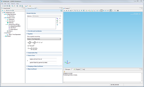 PDE Interface GUI