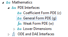 PDE Interface