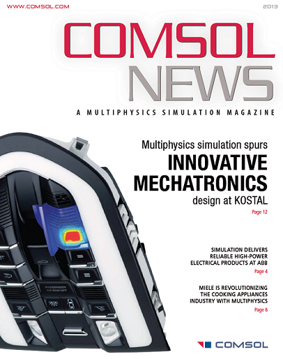 COMSOL News 2013