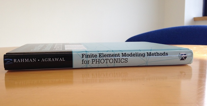Finite Element Modeling Methods for Photonics textbook
