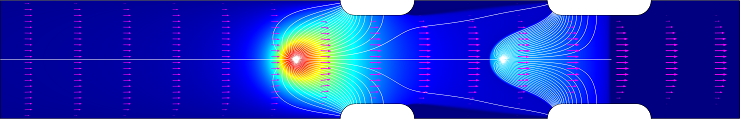 Multiphysics simulation of the Silent Air Cooling™ air mover from Tessera Technologies
