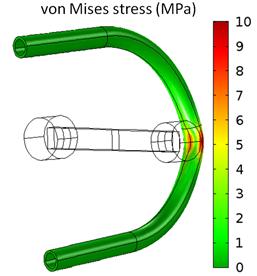 FSI analysis of a 3D peristaltic pump