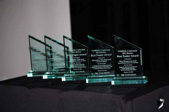 Awards for the best paper and poster