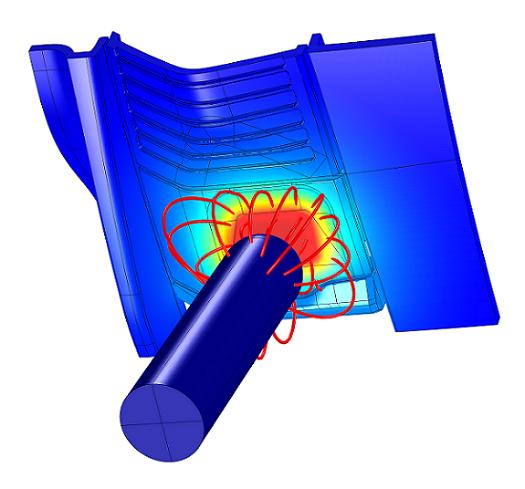 Capacitive sensor system model, a mechatronic simulation