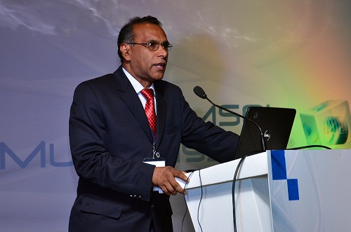 Keynote speaker, K.K. Rajan, Indira Gandhi Center for Atomic Research
