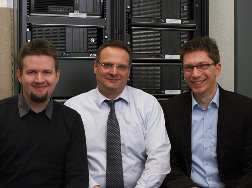KOSTAL Group researchers: Daniel Klagges, Ingolf Munster and Matthias Richwin