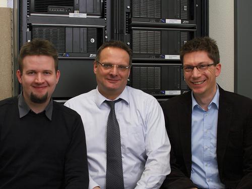 KOSTAL Group researchers: Daniel Klagges, Ingolf Munster and Matthias Richwin