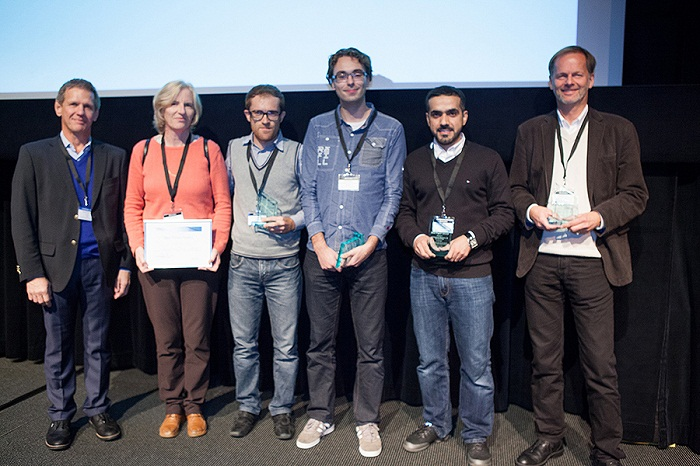 Paper and poster presentation award winners at the COMSOL Conference 2013 Rotterdam