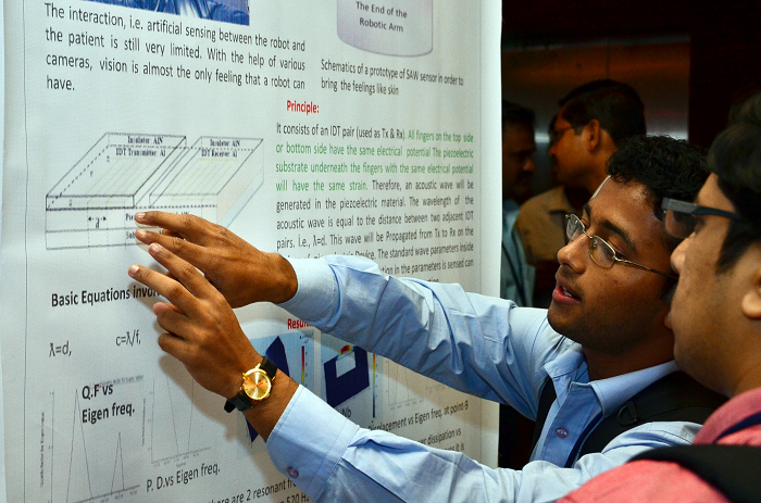 Poster Session close-up