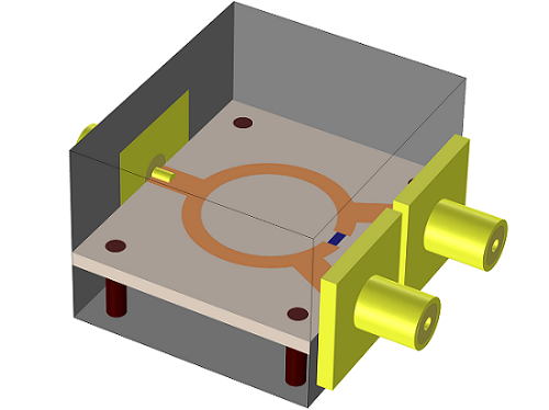 Wilkinson Power Divider Simulation Comsol Blog