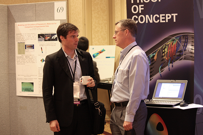 Exhibitors at the COMSOL Conference 2013 Boston
