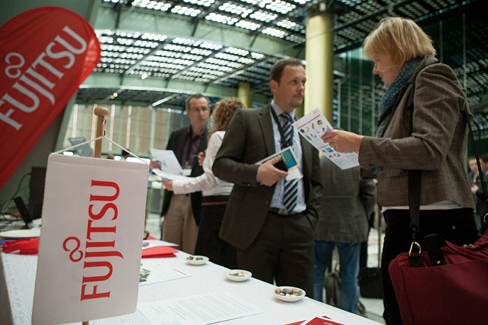 Fujitsu at the exhibition