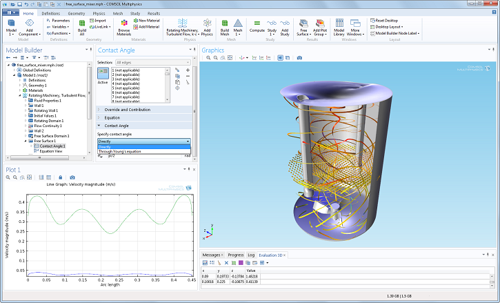 The new Mixer Module added in COMSOL Multiphysics version 4.4