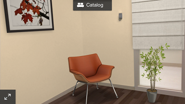 My office space designed with Autodesk Homestyler app