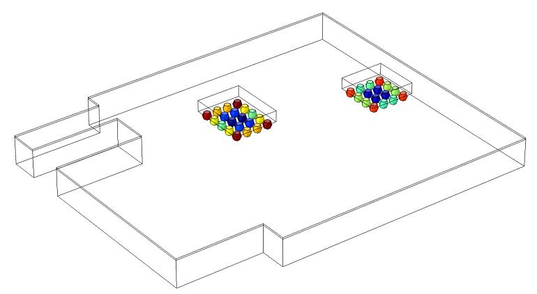 Model depicting fatigue life of viscoplastic solder joints