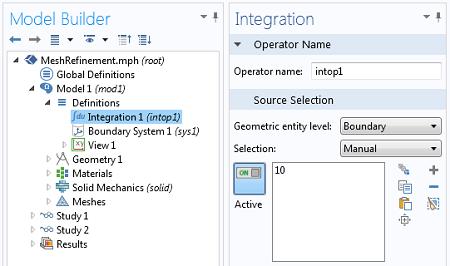 Integration Coupling Operator