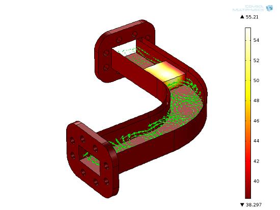 使用了共享内存的射频加热模型计算案例。