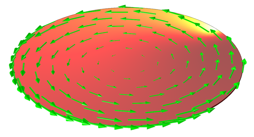 Silicon wafer modeled with COMSOL Multiphysics