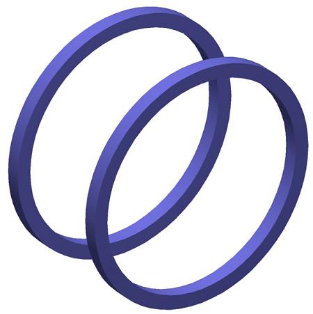 Helmholtz coils geometry