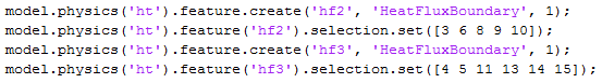 Model-M file code showing number selections