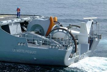 Towed sonar - small