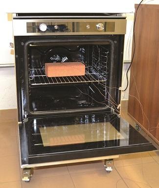 Minerva oven brick test.