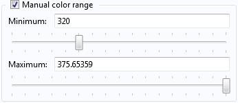 Color range tab.