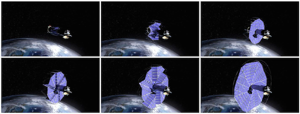 origami principles solve space problem