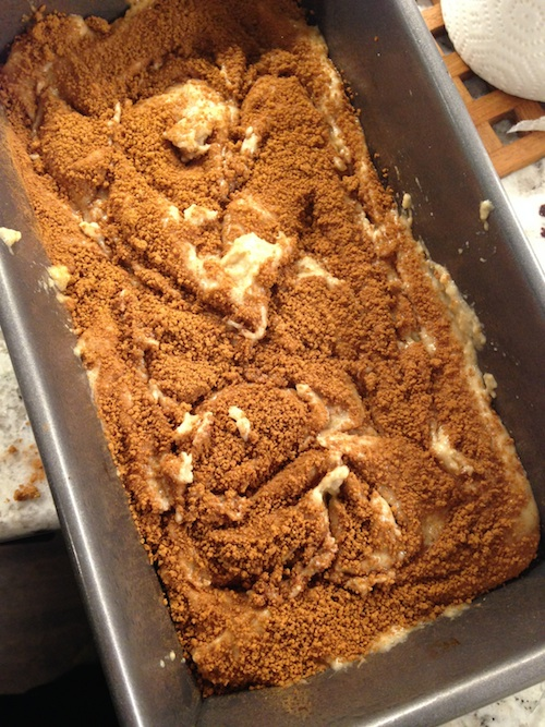 Exploring the role of eggs while baking a vegan cinnamon sugar loaf.