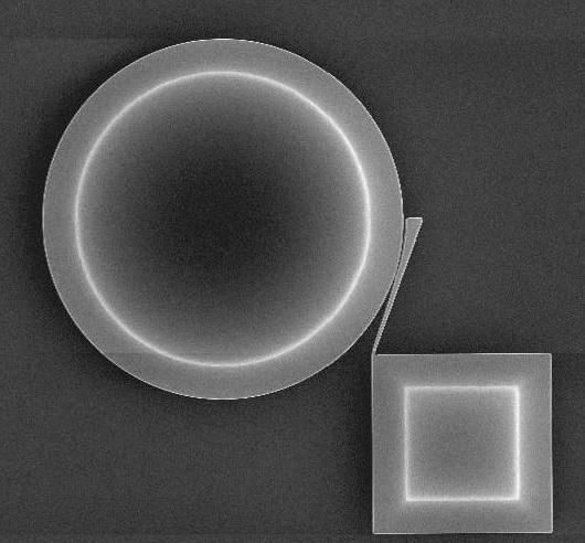 测力传感器中的等效质量,以执行热机械校准。