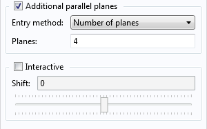 Additional parallel planes are added.