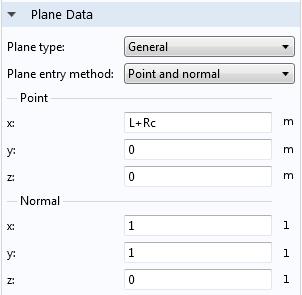 Adjusting the plane data.