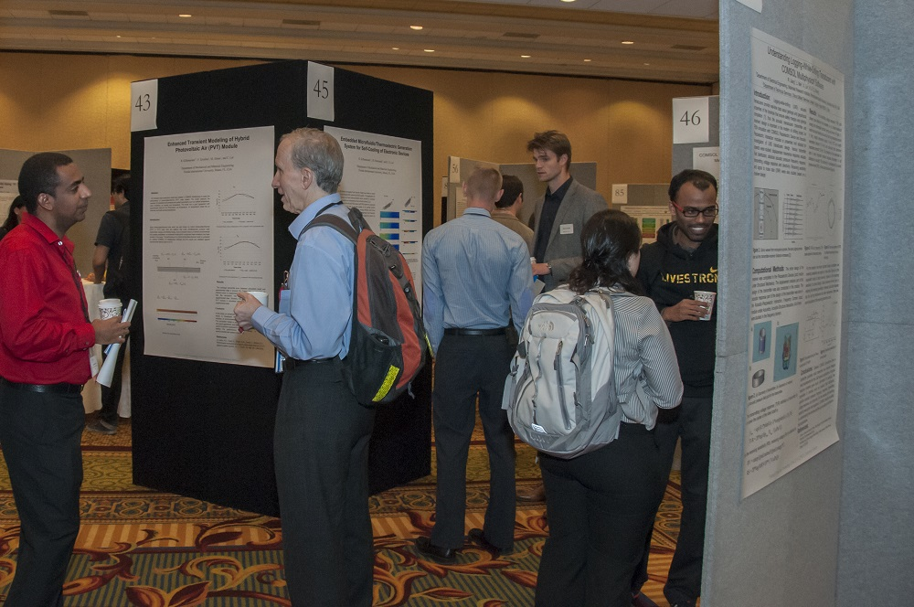 Poster session.